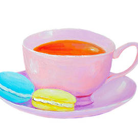 Tea and Macaroons by Jan Matson