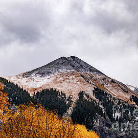 Telluride First Snow by Norma Brandsberg