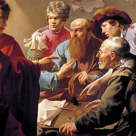 The Calling Of Matthew  by Hendrick ter Brugghen