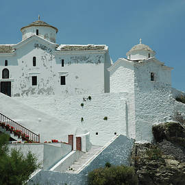 The Church Of Panagia Tou Pyrgou by Clive Beake