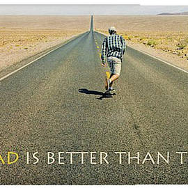 The Road Is Better Than The Inn by Darrel Giesbrecht