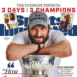 The Ultimate Trifecta 3 Days, 3 Champions Sports Illustrated Cover