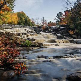 Upper Rosseau Falls by Andrew Wilson