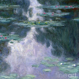 Water Lilies, Nympheas, 1907 by Claude Monet