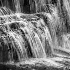 Waterfall in Black and White by Allen Penton