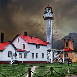 Whitefish Point Lighthouse by Evie Carrier