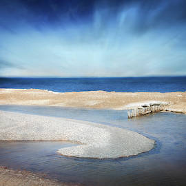 Whitefish Point Michigan by Evie Carrier