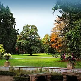 Wilanow Gardens #4, Warsaw by Slawek Aniol