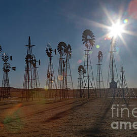 Windmills by Jim West