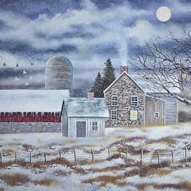 Brian Mickey - Winter Farm