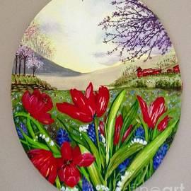 Spring for Johana by Laurel Adams