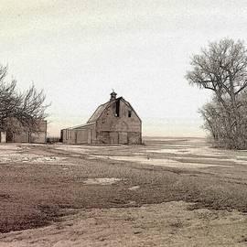Winter on the Farm by Curtis Tilleraas