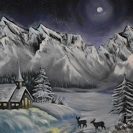 Winter Scenery by Marta Kazmierska