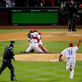 World Series Tampa Bay Rays V by Jeff Zelevansky