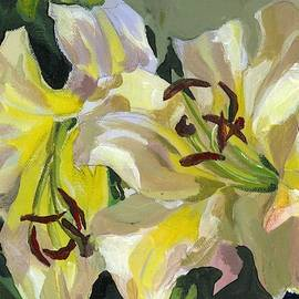 Yellow Lilies by Alfred Ng