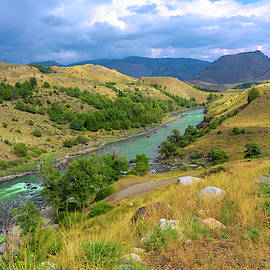 Yellowstone River by Cathy Anderson