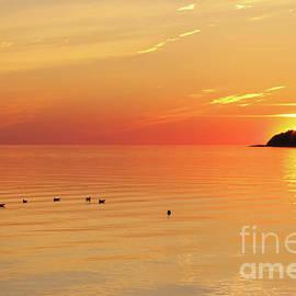 10022 Very Last Sun by Kim Lessel
