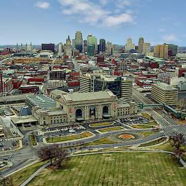 Kansas City Skyline by Anthony Dezenzio