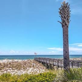 11081 Pensecola Beach by Pamela Williams