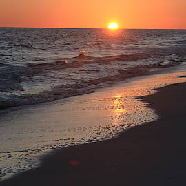 11081 Sunset in Gulf Shores by Pamela Williams