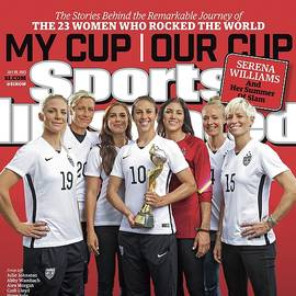 Us Womens National Team 2015 Fifa Womens World Cup Champions Sports Illustrated Cover