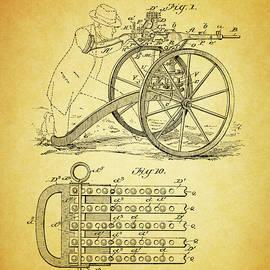 1902 Machine Gun Patent by Dan Sproul