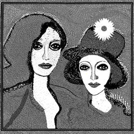 1919  The Flower Hat V  by Irmgard Schoendorf Welch