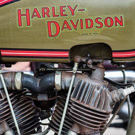 1926 Harley Davidson Jd by Tim Gainey