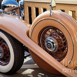 1932 Tan Cadillac by Brian Jannsen