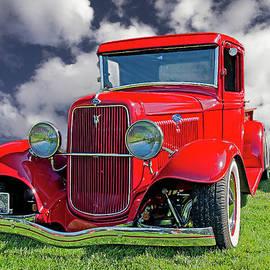 1934 Ford Pickup by John Bartelt