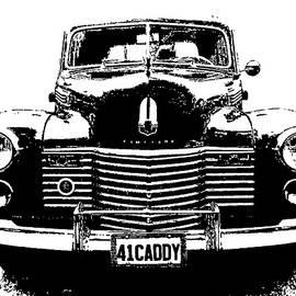 1941 Cadillac Front Blk by David King