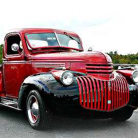 1941 Chevy Pick-up  by Marilyn De Block