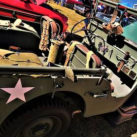 1942 Jeep By Ford by Frederick Hahn