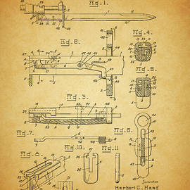 1945 Bayonet Patent by Dan Sproul