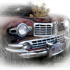 1948 Lincoln With A Junk Yard Intruder by Ron Long