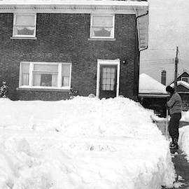 1950 Snow In Cleveland by Barbara Keith