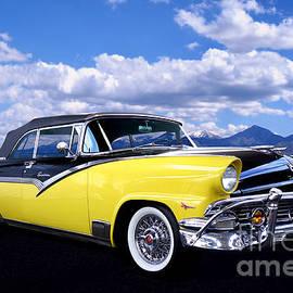 1956 Ford Sunliner Sedan by Thomas Burtney
