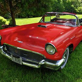 1957 Thunderbird Convertible by Brian Wallace