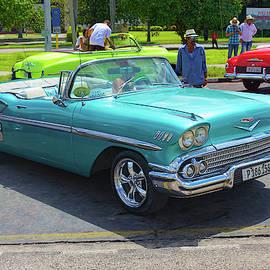 1958 Chevrolet Bel Air Impala Convertible by Nicola Nobile