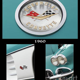 1960 Chevrolet Corvette Green by Gary Gingrich Galleries