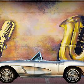 1962 Corvette Convertible by James DeFazio