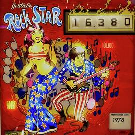 1978 Rock Star Pinball by Joan Reese