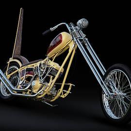 1981 Harley Shovelhead Longbike by Andy Romanoff