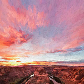 180 Degrees Of Sunset by Jon Glaser
