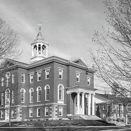 Bates College Hathorn Hall by University Icons