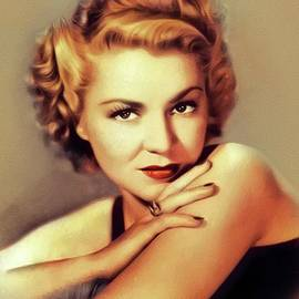 Claire Trevor, Vintage Actress by John Springfield