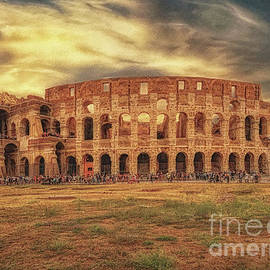 Colosseo, Rome by Leigh Kemp