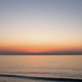 Dawn Over The Sea