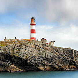Eilean Glas lighthouse - Western Isles by Grant Glendinning