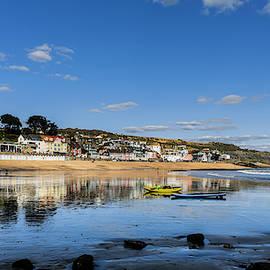 Low Tide Lyme Regis, Dorset. by Maggie McCall
